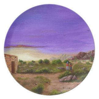 Prato De Festa Caminhada do deserto