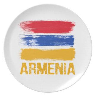 Prato De Festa Camisas da bandeira de Arménia