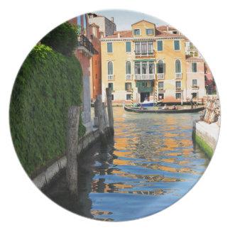 Prato De Festa Canal grande, Veneza, Italia