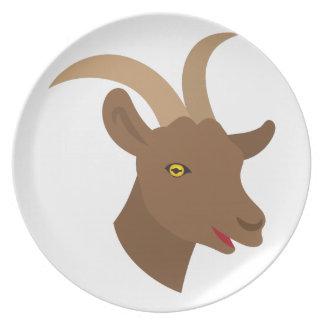 Prato De Festa cara bonito masculina da cabra