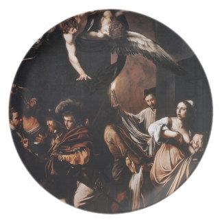 Prato De Festa Caravaggio - os sete trabalhos da pintura do