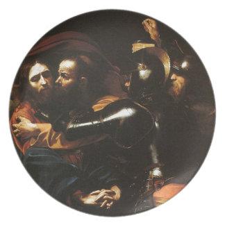 Prato De Festa Caravaggio - tomada do cristo - trabalhos de arte