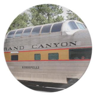 Prato De Festa Carruagem Railway do Grand Canyon, arizona