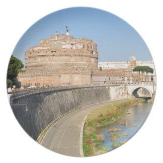 Prato De Festa Castelo de Sant'Angelo em Roma, Italia