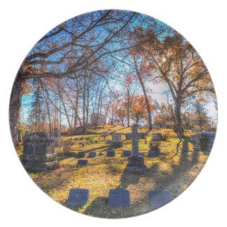 Prato De Festa Cemitério oco sonolento New York