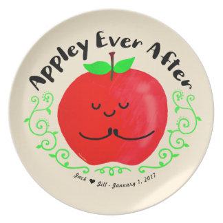 Prato De Festa Chalaça positiva de Apple - Appley sempre em