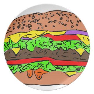 Prato De Festa Cheeseburger