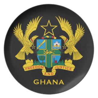 Prato De Festa Coletor da brasão de Ghana*