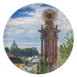 Prato De Festa Coluna do praga, Banska Stiavnica, Slovakia