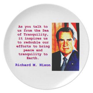 Prato De Festa Como você nos fala - Richard Nixon