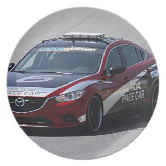 Prato De Festa Competência de carro de esportes auto