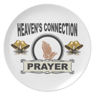 Prato De Festa Conexão dos céus de Bels
