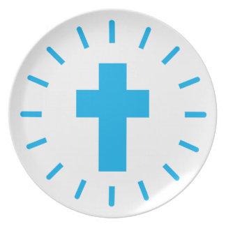 Prato De Festa Cruz do Jesus Cristo