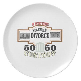 Prato De Festa custódia 50 50 no casamento
