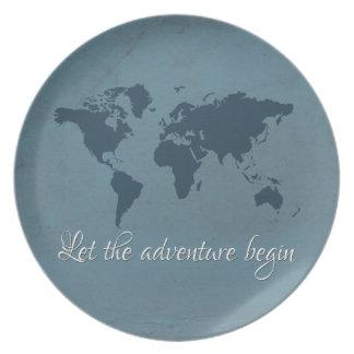 Prato De Festa Deixe a aventura começar