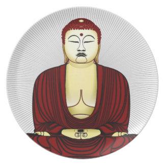 Prato De Festa Desenho de Buddha