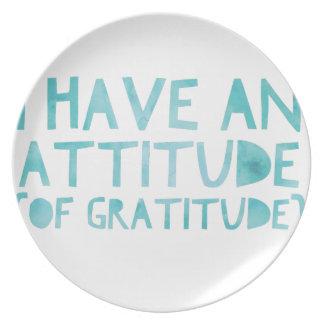Prato De Festa Desintoxicação AA da recuperação da gratitude da