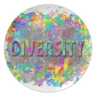 Prato De Festa Diversidade