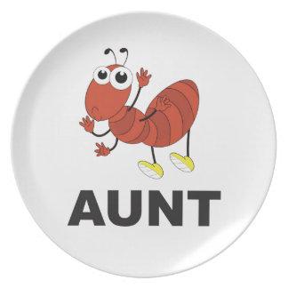 Prato De Festa divertimento da formiga da tia