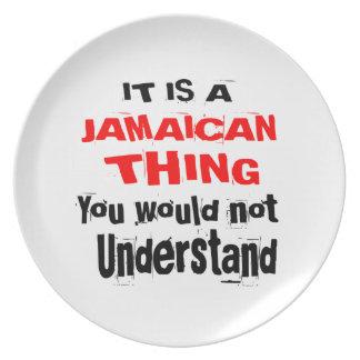 PRATO DE FESTA É DESIGN JAMAICANO DA COISA