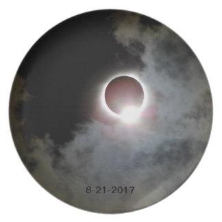 Prato De Festa Eclipse solar 21 de agosto de 2017