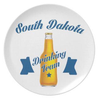 Prato De Festa Equipe do bebendo de South Dakota
