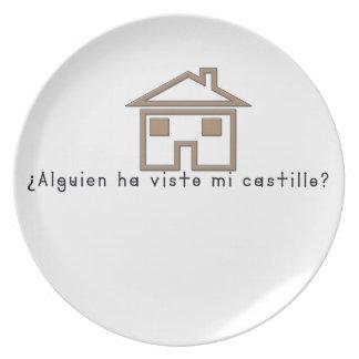 Prato De Festa Espanhol-Castelo