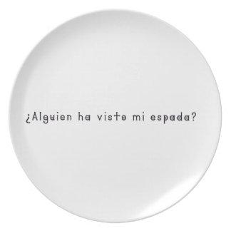 Prato De Festa Espanhol-Espada