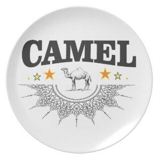 Prato De Festa estrelas do camelo