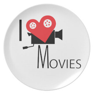 PRATO DE FESTA EU AMO FILMES