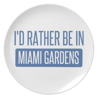 Prato De Festa Eu preferencialmente estaria em jardins de Miami