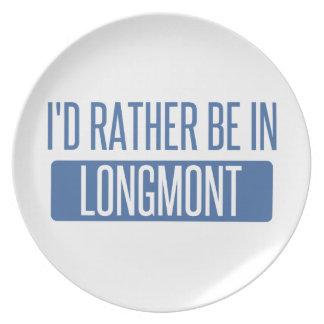 Prato De Festa Eu preferencialmente estaria em Longmont