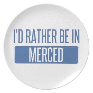 Prato De Festa Eu preferencialmente estaria em Merced