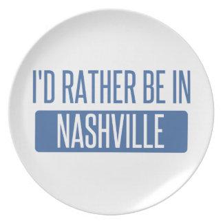 Prato De Festa Eu preferencialmente estaria em Nashville