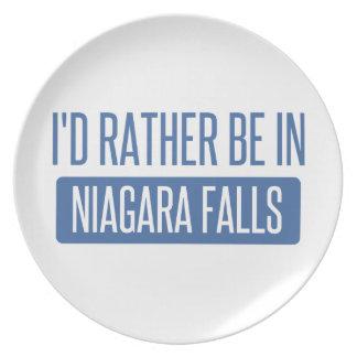 Prato De Festa Eu preferencialmente estaria em Niagara Falls