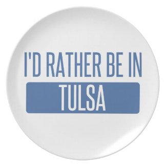Prato De Festa Eu preferencialmente estaria em Tulsa