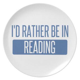 Prato De Festa Eu preferencialmente estaria na leitura