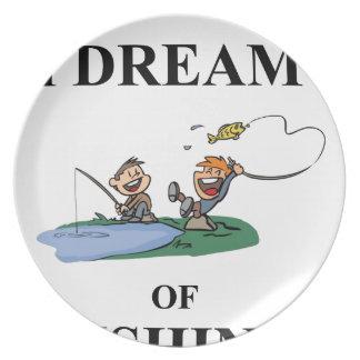Prato De Festa Eu sonho da pesca