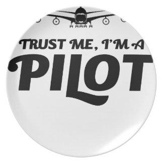 Prato De Festa Eu sou um piloto