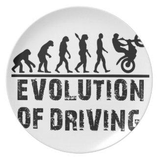 Prato De Festa Evolução da condução