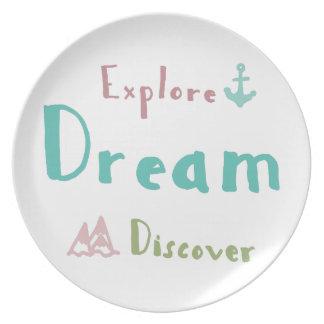Prato De Festa Explore o sonho descobrem
