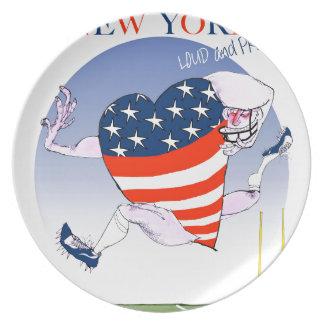 Prato De Festa Fernandes tony altos e orgulhosos de New York,