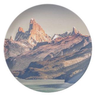 Prato De Festa Fitz Roy e Patagonia das montanhas de Poincenot