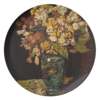 Prato De Festa Flores em um vaso