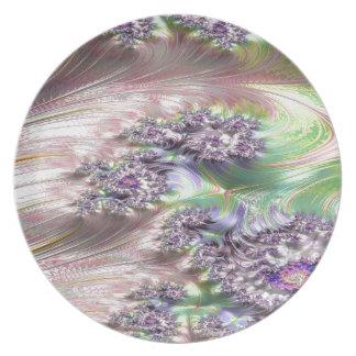 Prato De Festa fractal prodigioso da complicação