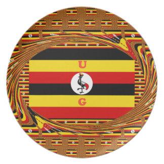 Prato De Festa Hakuna surpreendente bonito Matata Uganda bonito
