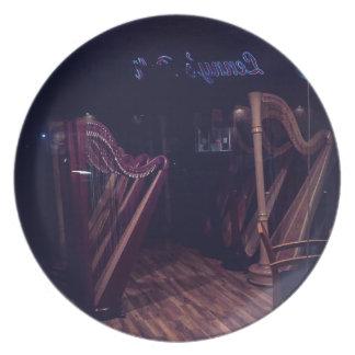 Prato De Festa Harpa na sombra