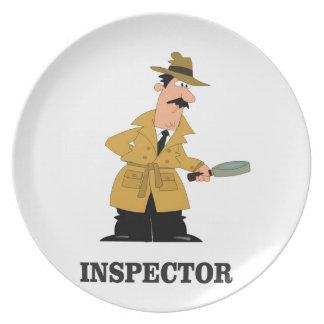 Prato De Festa homem do inspector