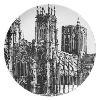 Prato De Festa Igreja gótico inglesa
