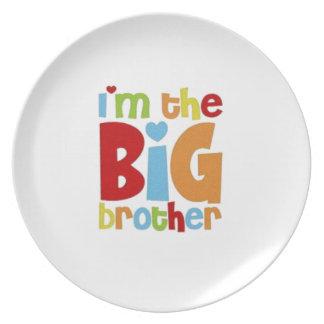 PRATO DE FESTA IM O BIG BROTHER